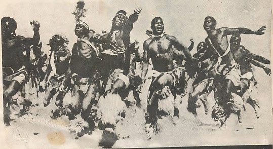 historia danza medicinal: