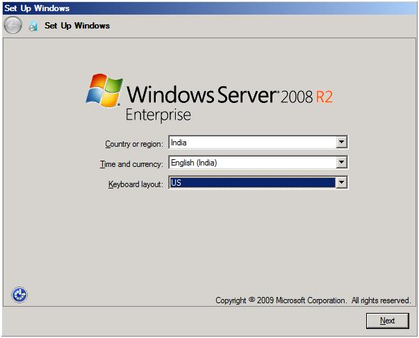 how to run sysprep on windows 2008 r2 vm
