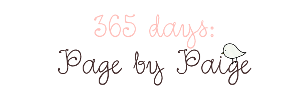 365 days: Page by Paige