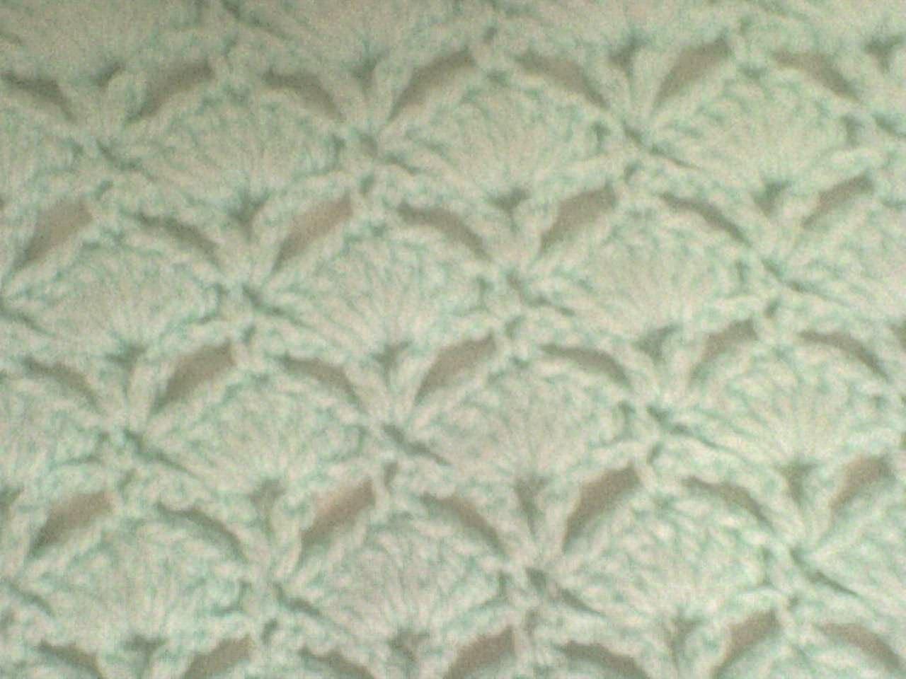 tejiendo mi vida en dos agujas: mi primer labor de tejido