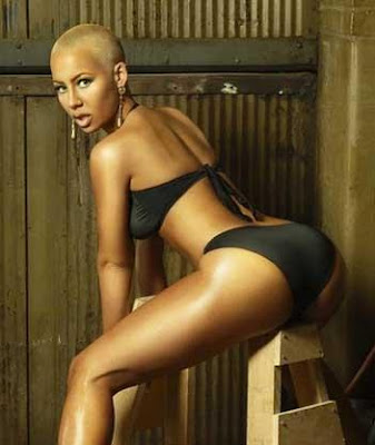 nicki minaj and amber rose booty. Amber Rose.
