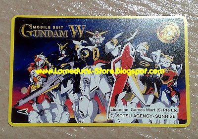 ... Gundam Wing TRANSITLINK Card by GamesMart - Sotsu Agency Sunrise