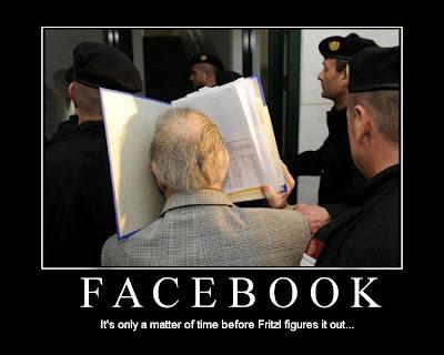 Fritzl doesn't understand Facebook