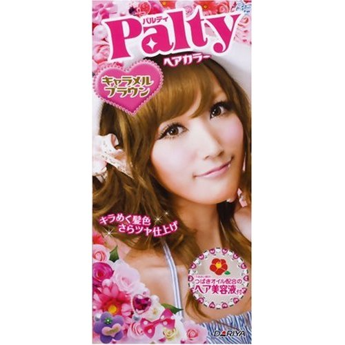 black and pink hair color. I bought Palty hair color in