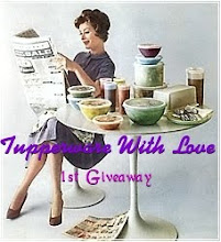 TUPPERWARE WITH LOVE 1ST GIVEAWAY