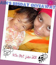 AIN'S BESDAY GIVEAWAY