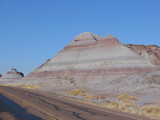 Colorful hills in the Painted desert