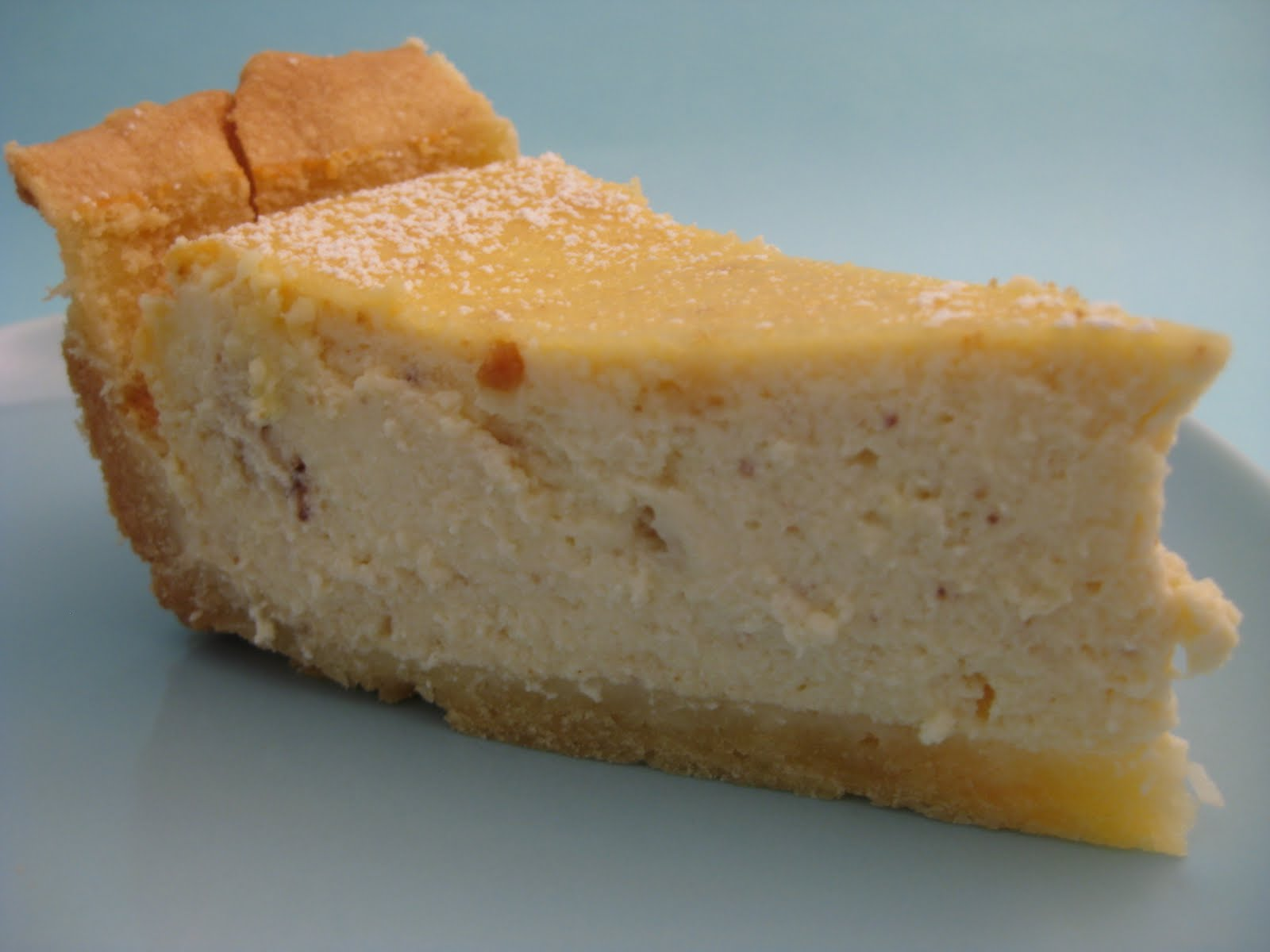 An empty stomach is the best cook: Italian Ricotta Cheesecake