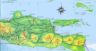 map of east java indonesia