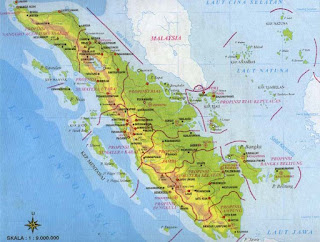 map of sumatra indonesia