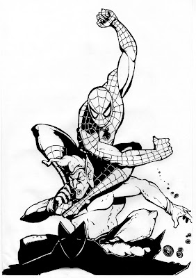 Spiderman Coloring Sheets on Spiderman Coloring  Spiderman Theme Coloring Pages