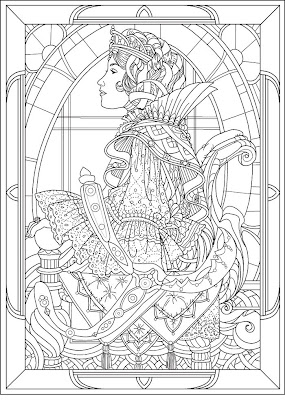 Princess Coloring Sheets on Princess Coloring Pages Brings You Two Very Detailed Colouring
