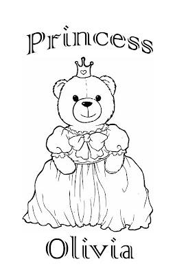 olivia coloring pages - interactive magazine princess olivia
