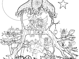 Trippy Sun Coloring Pages