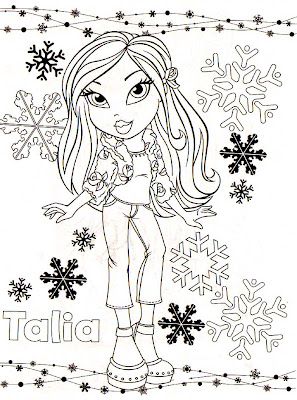 Bratz Coloring Pages on Bratz Coloring Pages