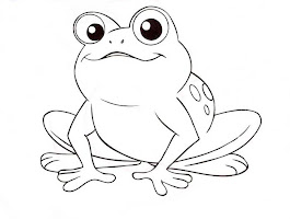 Frog Prince Coloring Pages Printable