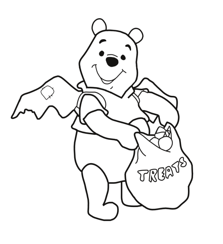 disney coloring pages halloween - photo#15