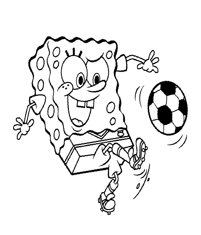 spongebob free coloring pages - photo#23