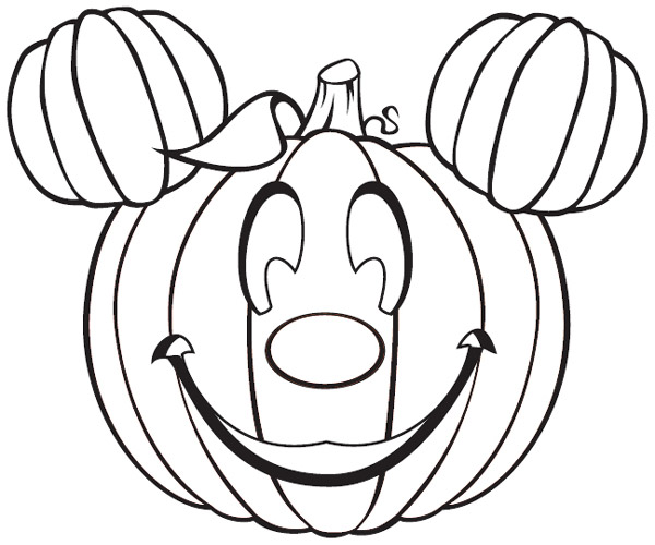 disney coloring pages halloween - photo#21