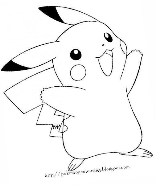 Pokemon Printable Coloring Pages to Print