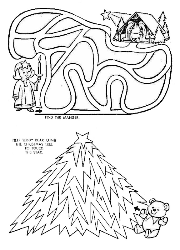 We have hundreds of free, printable Xmas coloring pages here title=