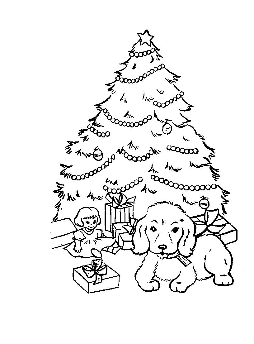 geography blog christmas tree coloring pages