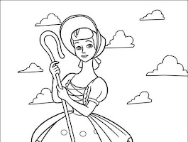 Toy Story Mr. And Mrs. Potato Head Coloring Pages