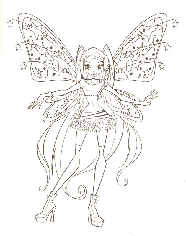 ALONGSIDE YOU WILL FIND MANY MORE WINX FAIRIES COLORING PAGES title=