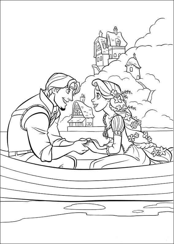 tangled coloring pages disney - photo#9