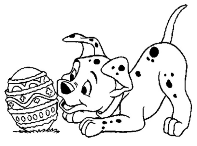 Easter Coloring Pages Disney Characters : Easter colouring disney pages