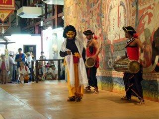 スリランカの踊り