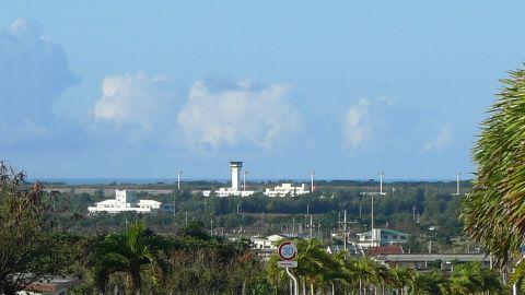 下地島空港のタワー
