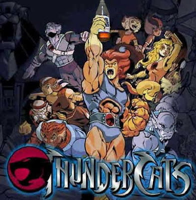Thunder cats on DVD