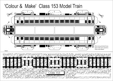 Class 153 train model