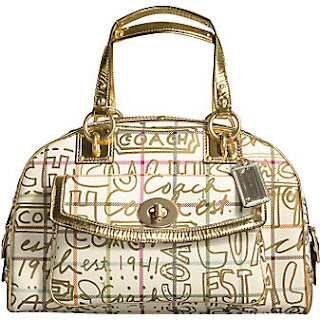 e70f9ee45d Coach Tattersall Graffiti Domed Satchel Bag  13185