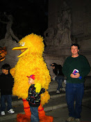 With Big Bird in Central Park