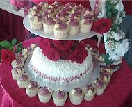 wedding cakes+cupcakes