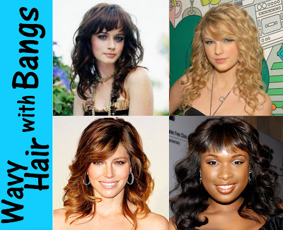 Can you have bangs with wavy hair? HECK YES! Take the plunge! Chop it!