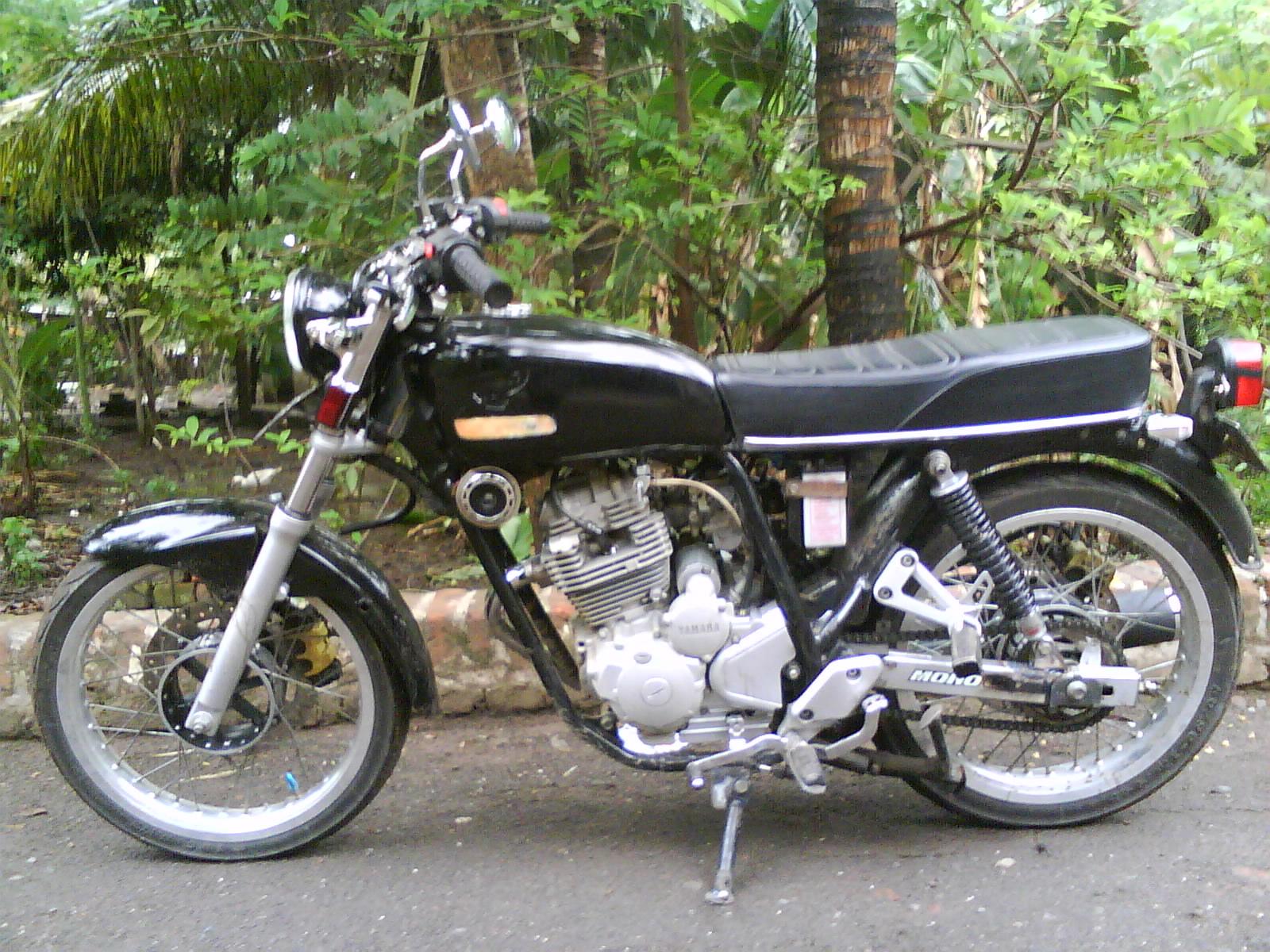 Modifikasi Sepeda Motor Yamaha Scorpio