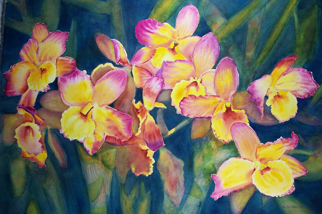 Dancing Dendrobiums