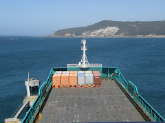 Weather Deck of the Tasmanian Achiever