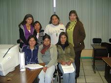 ING: GINA VALENCIA Y ESTUDIANTES