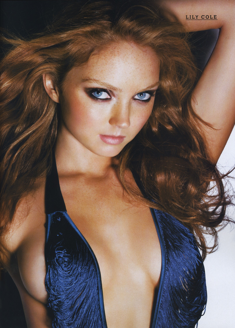 Lily Cole Playboy model