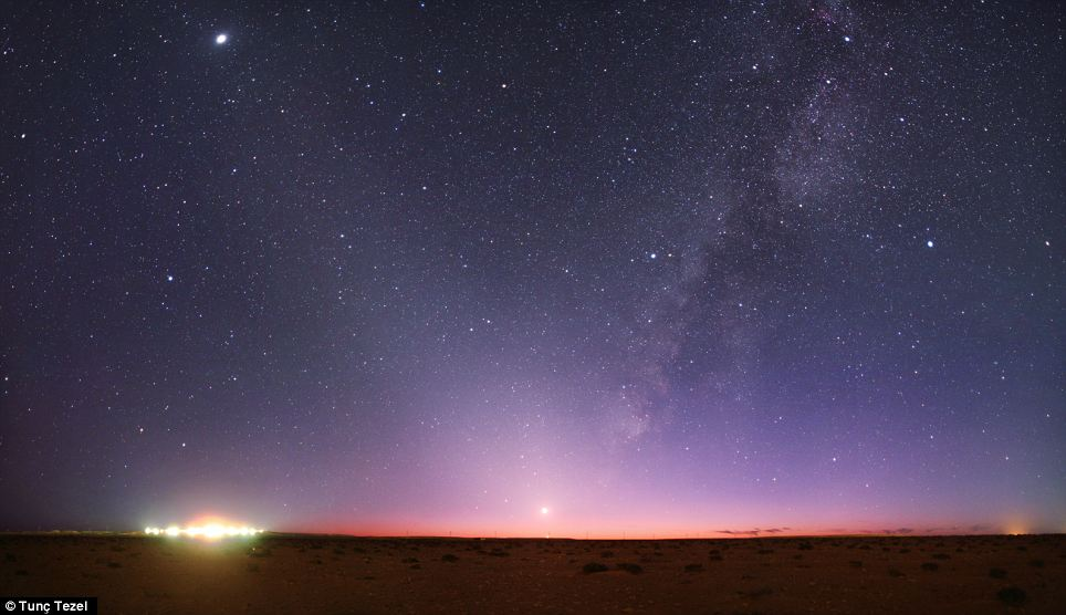 TwinkleDreams: Desert Night Sky Over Libya