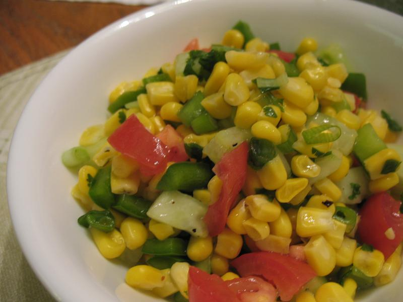 Stop Eating All The Chocolates: Healthy Recipe: Summer Corn Salad