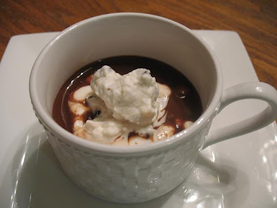 ... and Smell the Chocolates: Simmering Soup-Last Day: Chocolate Soup
