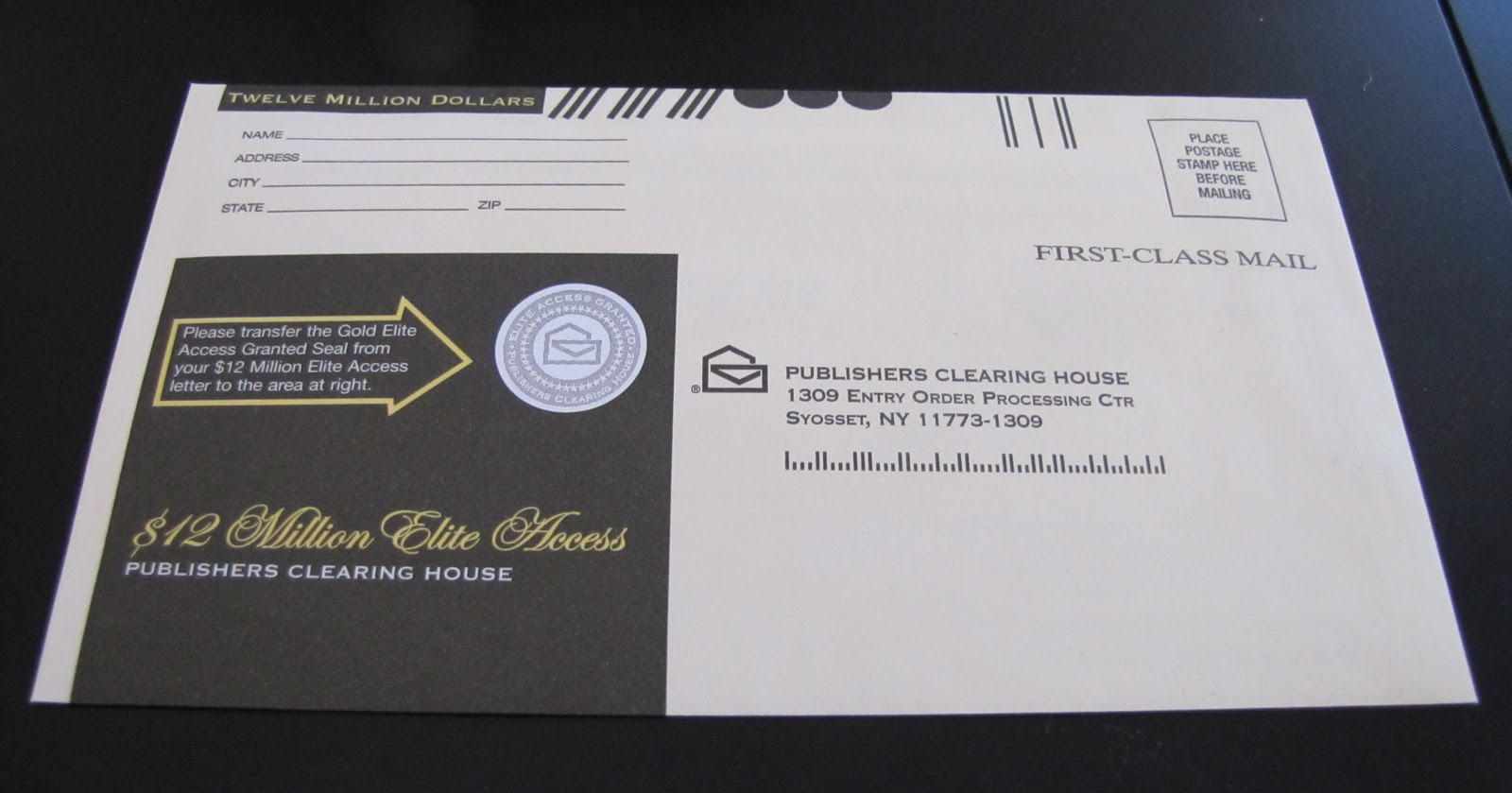 Clearing House Envelope http://iwpsd.net/publishers-clearing-house