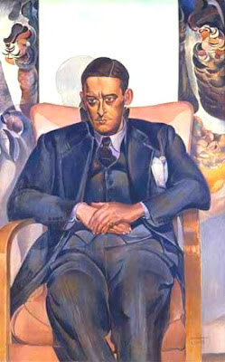 TS Eliot in transparent trousers