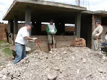 PERU: Arrival of Gravel