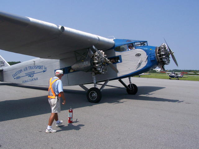 You Fly Girl Cleveland Fly In A Ford Trimotor On July 8
